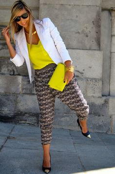 Picture Of trendy bright summer outfits  2