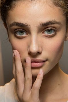 Taylor Marie Hill at Damir Doma SS 2015 (Backstage)