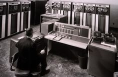IBM 7090 -- I used to work as a computer operator on a machine like this.