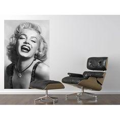 Marilyn Monroe Portrait. Giant Art Poster by idealdecormurals.com