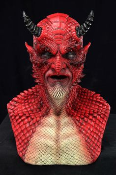 Silicone Demon Masks