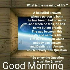 Good Morning have a nice day Good Morning Prayer, Good Morning Love, Morning Prayers, Good Morning Wishes, Morning Music, Morning Blessings, Beautiful Morning Quotes, Good Morning Inspirational Quotes, Good Morning Quotes