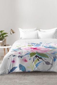 Gabriela Fuente Nara floral Comforter   Deny Designs Home Accessories