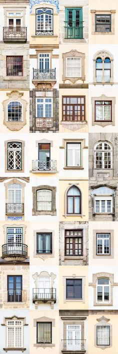 I Traveled All Over #Portugal To Photograph Windows, And Captured More Than 3200 Of Them - via BoredPanda 23-10-2017   If you are planning a trip to Portugal, you can see which are the most beautiful cities to visit or what kind of architecture you like the most. Photo: Viseu
