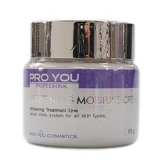 Pro You Whitening Moisture Cream 2.11oz Pro You…