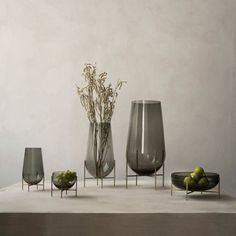 Shop the Echasse Clear Glass Table Vase at Perigold, home to the design world's best furnishings for every style and space. Plus, enjoy free delivery on most items. Yellow Home Accessories, Coffee Table Accessories, Home Decor Accessories, Decorative Accessories, Decorative Items, Office Accessories, Contemporary Decorative Bowls, Design Vase, Vases For Sale