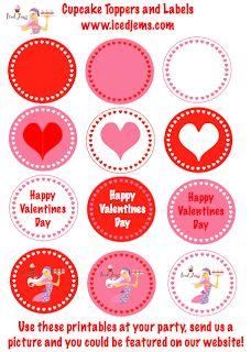 valentine cupcake wrapper template