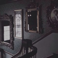 Looks like my hall of mirrors in my last house