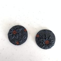 Black Sunflower Collection – Leafy Originals Studs, Dangles, Bronze, Sterling Silver, The Originals, How To Make, Inspiration, Collection, Black