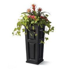 Nantucket Tall Tapered Planter Love the plant size and selection and planter