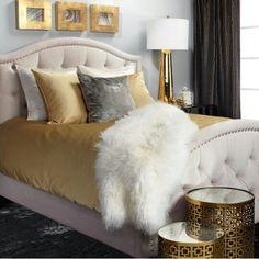 Bedroom #gold