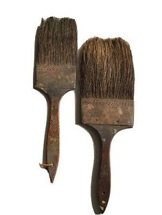 2 Vintage  Antique Paint Brushes  | eBay Outdoor Acrylic Paint, Acrylic Paint Set, Artist Supplies, Antique Paint, Pinstriping, Paint Brushes, Vintage Antiques, Shabby Chic, Painting