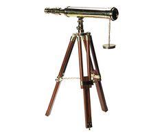 - Navy Telescope In Collector´s Box silber-finish Marine Fernrohr Vernickelt