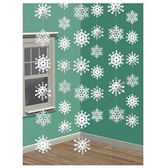 Snowflakes Winter Christmas Party Event Theatre Decor Drama Decoration in Home & Garden, Greeting Cards & Party Supply, Other Gift & Party Supplies Frozen Birthday Party, Winter Birthday, Xmas Party, Holiday Parties, Snow Party, December Birthday, 4th Birthday, Holiday Cards, Holiday Gifts