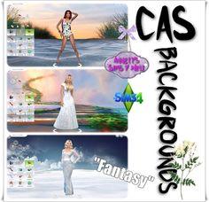 """Annett's Sims 4 Welt: CAS Backgrounds """"Fantasy"""""""