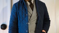 Layering with Lavenham quilted jacket makes this a bit more warm combination.