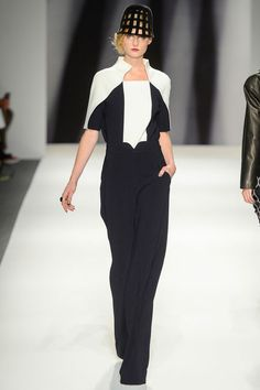 Bibhu Mohapatra Fall 2013 Ready-to-Wear Collection - Vogue Ny Fashion Week, New York Fashion, Fashion Models, Fashion Show, Fashion Design, Bibhu Mohapatra, Eccentric Style, Work Chic, Couture Fashion