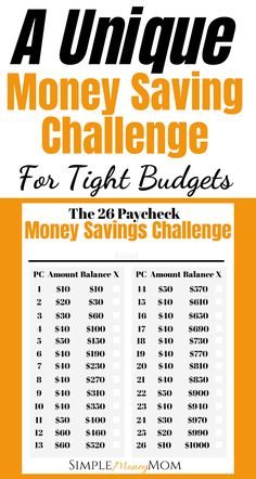 A Realistic Money Savings Challenge for Smaller Budgets – Finance tips, saving money, budgeting planner Savings Challenge, Money Saving Challenge, Money Saving Tips, Saving Ideas, Money Tips, Managing Money, 26 Week Savings Plan, No Spend Challenge, Money Hacks