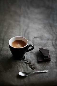 Coffee and chocolate...Yes!