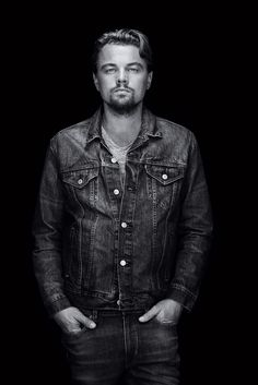 denim does the trick- Leonardo DiCaprio | by Robert Maxwell