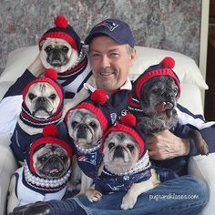 Welcome to the PUG CAVE: Enter at your own risk #bringonthepizza #footballandfood #gopats❤️ #lovepugsandkisses #pugsandkisses