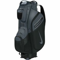 The Nike Performance II Cart Bag is a premium cart golf bag with an amazing array of features and storage to give you ultimate athletic performance for golfers who play from a riding cart or push cart. #golf #golflife #golfers #pga #lpga #golfbags #lorisgolfshoppe