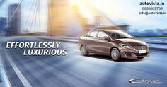 Feel Luxurious while driving #MarutiSuzuki #Ciaz Call: 8888807738 E-mail: info@autovista.in