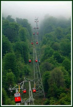Chairlifts in Iran