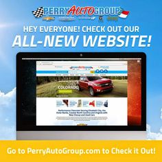 PerryAutoGroup.com Redesigned to be More User-Friendly