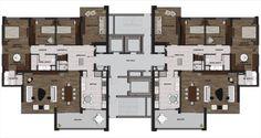 Lotus Beytepe Kat Planı