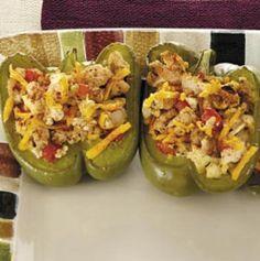 Spokane Dinner Club: Turkey-Stuffed Bell Peppers