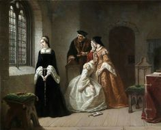 """The Last Moments of Lady Jane Grey"" by Hendrick Jacobus Scholten (19th cent.) owned by @HRP_palaces (in the Tower?!) http://t.co/GOtui5q4Bm"