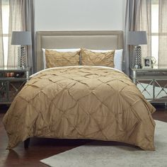 Carrington Quilt by Rizzy Home Khaki - QLTBT1710KI001692