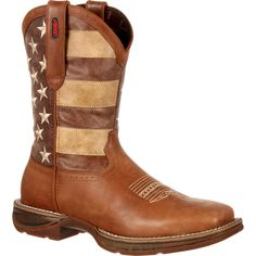 Rebel by Durango Faded Rebel Flag Western Boot