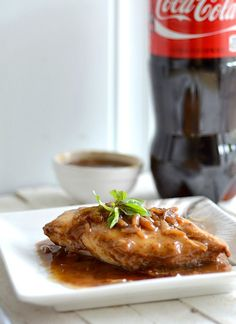 Baked Coco-Cola Chicken (Main Dish)