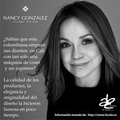 #NancyGonzalez, #Diseñadora #Colombiana creadora de una de las marcas de #Carteras más distinguidas hoy en día. #ABCHerrajes #Diseñadores #Estilo #Lujo #Moda www.abcherrajes.com