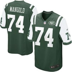 36e43f6b1ca Men s Nike New York Jets Nick Mangold Game Team Color Jersey. Tony Klark ·  NFL Funny Custom Jerseys