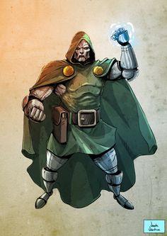 Dr Doom by Vicente Valentine