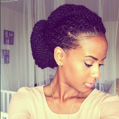Creative Ways to Wear Your Havana Twists | Chic and Coily!