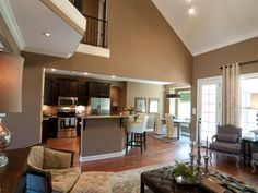 Regency Home Builders of Tennessee-Emerson, great room.