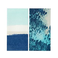 Talking Tables Coastal Narrow Double Pack Napkin 20 Pack Multicolor * You can get additional details at the image link. (This is an affiliate link)