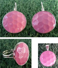 I am in love with this pink golf ball jewels! #golf #lorisgolfshoppe