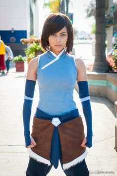 Avatar Korra Beauty Korra cosplay by Gurl With Red Hair Photo by Joits Photography Avatar Costumes, Avatar Cosplay, Cool Costumes, Cosplay Costumes, Cosplay Ideas, Amazing Cosplay, Best Cosplay, Bender Costume, Halloween Cosplay