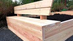 Gör trädgårdsarbetet lätt – bygg lådor att odla i   Hobby och hantverk   svenska.yle.fi Outdoor Furniture, Outdoor Decor, Bench, Wood, Garden, Crafts, Home Decor, Garten, Manualidades