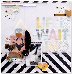 @fancypantsdsgns NEW collection #OfficeSuite by @KimWatson #scrapbooking #layout #12x12 #papercraft