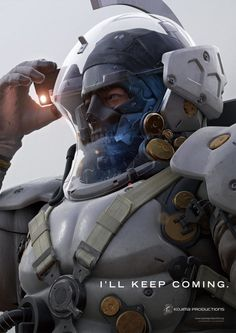 """Kojima Productions Reveals New Image of Ludens  Kojima Productions has released a new image of Ludens providing a closer look at the face of the studio's mysterious mascot.  The image which comes by way of GameSpot reveals the eyes of the partially-masked figure and bears the tagline """"I'll keep coming."""" When asked for additional details about the image the studio told the outlet:""""You can freely imagine whatever you see.""""   Kojima Productions' mascot Ludens. Image via GameSpot  Continue…"""