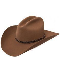 7dd454a41bdab0 3X Tattoos, Pecan Cowboy Hat by Resistol Hats Jason Aldean Tattoos, Wool  Felt,