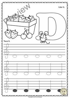 Piano Instruction A set of 26 music worksheets {Spring themed} is created to help your students learn to trace, copy, color and draw notes on the staff {Treble pitch}. {C first – A second octaves}. Music Lessons For Kids, Music For Kids, Piano Lessons, Learning Music Notes, Music Education, Piano Songs For Beginners, Music Theory Worksheets, Piano Teaching, Learning Piano