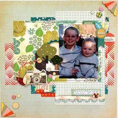 Love My Boys - Scrapbook.com   acorn avenue