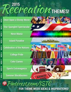 We're already buzzing with excitement for Summer 2015! We have tons of ideas on our Pinterest page for costumes, foods, decorations, and more that you can incorporate into your week's theme! We've also shared our 2015 rec themes on Facebook and Instagram [...]
